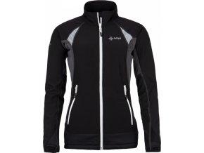 Damska techniczna kurtka stretchowa KILPI NORDIM-W czarna