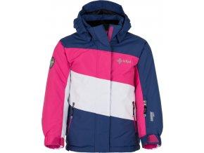 Dziewczęca kurtka narciarska KILPI KALLY-JG ciemnoniebieska