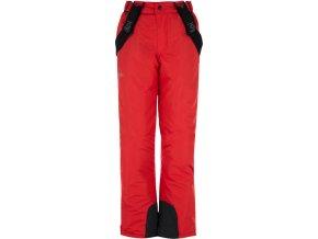 Spodnie zimowe chłopięce KILPI RHEA-JB Czerwone