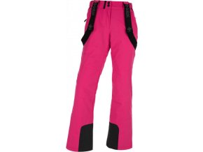 Damskie narciarske spodnie KILPI ELARE-W Różowe