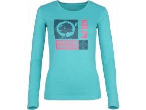 Damska koszulka KILPI TREE-W turkusowa