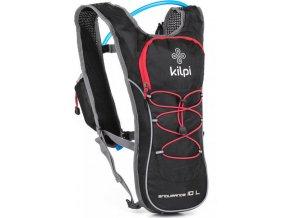 Plecak do biegania / jazdy na rowerze KILPI ENDURANCE 10L Czarny