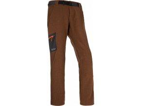 Męskie spodnie techniczne KILPI JAMES-M Brązowe