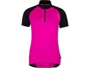 Damska koszulka kolarska KILPI RUSHA-W różowa