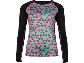 Damska koszulka funkcjonalna KILPI SUNBOW-W czarna