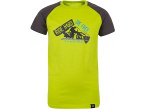 Chłopięca koszulka KILPI BIKER-JB jasnozielona