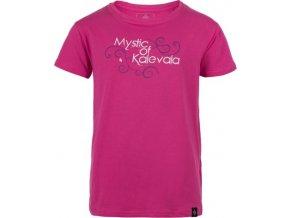 Dziewczęca koszulka KILPI BARILA-JG różowa