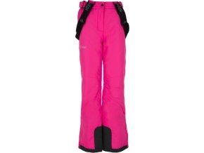 Spodnie zimowe dziewczęce KILPI EUROPA-JG Różowe