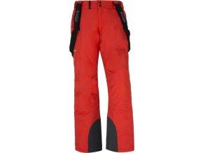 Męskie spodnie techniczne zimowe KILPI MIMAS-M Czerwone