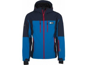 Męska softshellowa kurtka narciarska KILPI VANUATU-M niebieska