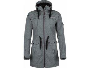Damski płaszcz softshell KILPI LASIKA-W Beżowy