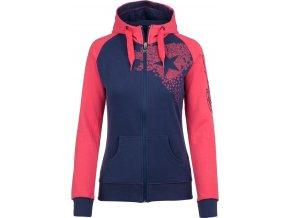 Damska bluza bawełniana KILPI LOTTA-W różowa