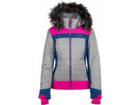 Damska kurtka narciarska KILPI LEDA-W różowa 18