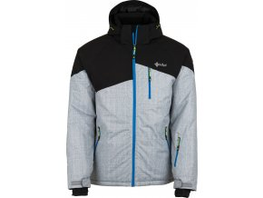 Męska kurtka narciarska KILPI OLIVER-M jasnoszara 18