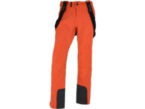 Męskie softshell spodnie KILPI RHEA-M Pomarańczowe