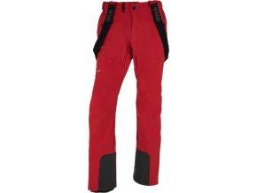 Męskie spodnie softshell KILPI RHEA-M Czerwone