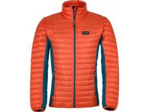 Męska kurtka outdoorowa KILPI ISAIAH-M pomarańczowa