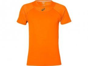 Męska koszulka funkcyjna Asics 141141 M ATHLETE COOLING Pomarańczowa