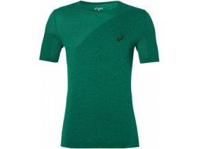 Męska koszulka funkcyjna Asics 143605 SEAMLESS Zielony kolor