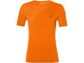 Męska koszulka funkcyjna Asics 143605 SEAMLESS Pomarańczowa