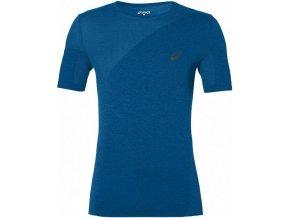 Męska koszulka funkcyjna Asics 143605 SEAMLESS Niebieska