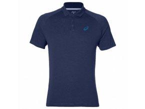 Męska sportowa koszulka Asics 141160 M CLUB Polo Niebieska
