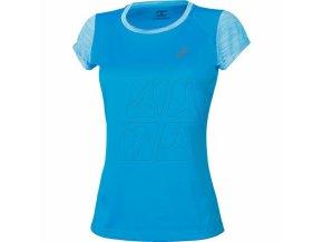 Damska koszulka sportowa Asics 141255 FUZEX SS Top Niebieska