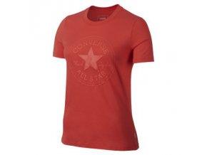 Damska koszulka Converse Puff CP crex Tee czerwona