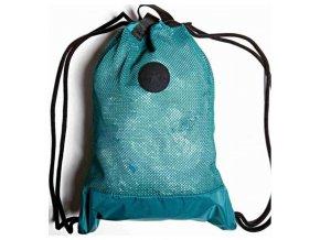 Vak-taška-kabelka Converse Mesh Cinch Tote zelená