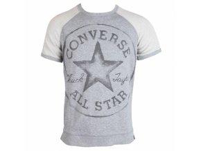 Damska bluza Converse AWK CORE + SS Crw Sweat szara