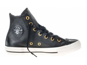 Skórzane Converse Chuck Taylor All Star Leather Czarne