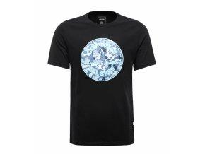 Męska koszulka Converse Neon CP camo fill tee czarna