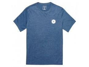Męska koszulka Converse CORE left chest CP crew tee niebieska