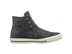 Skórzane Converse Chuck Taylor All Star Leather Szara