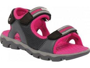 Sandały dziewczęce Regatta RKF409 TERRAROCK Iron/Jem