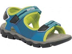 Chlapecké sandály Regatta RKF409 TERRAROCK Jnr FrchBl/LimeP