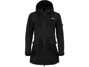 Damski płaszcz softshell KILPI LASIKA-W Czarny 18