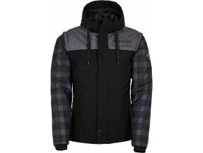 Męska kurtka zimowa KILPI KIWI-M czarna