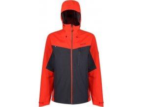 Męska kurtka outdoorowa Regatta RMW279 BIRCHDALE pomarańczowa