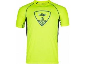 Męska koszulka funkcyjna KILPI LITYS-M żółta 18