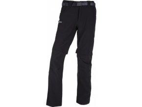 Męskie spodnie outdoor FRANCOIS-M KILPI Czarne 18