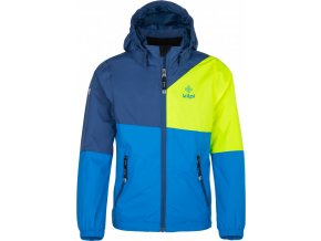 Dziecięca kurtka outdoorowa KILPI BRITLE-JB niebieska 18