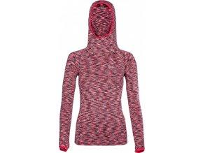 Damska koszulka funkcjonalna z długimi rękawami KILPI DIVER-W różowa 18.