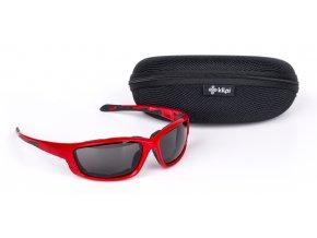 Okulary przeciwsłoneczne KILPI MOSHI-U czerwone