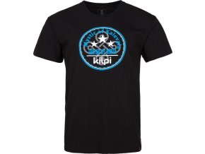 Męska koszulka bawełniana KILPI MYSTIC-M Czarna