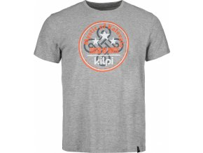 Męska koszulka bawełniana KILPI MYSTIC-M Ciemno szara