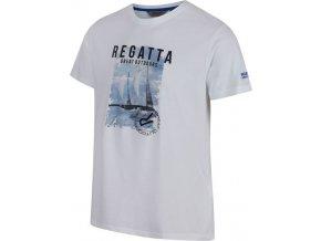 Męska koszulka REGATTA RMT153 Cline II biała