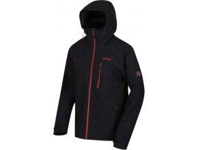 Męska kurtka outdoorowa REGATTA RMW279 Birchdale czarna