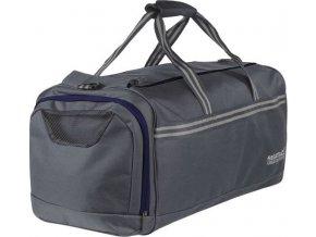 Cestovní taška Regatta EU170 BURFORDDUFFLE 80L Šedá