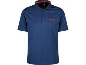 Męska koszulka funkcyjna polo Regatta RMT169 MAVERICK IV niebieska
